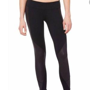 ALO Black Yoga Pants Zippered Legs